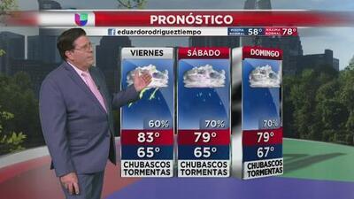 Las lluvias se quedarán en la región durante todo el fin de semana