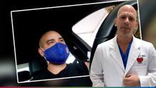 """""""Siento como si me hubieran dado un trancazo"""": El doctor Juan Rivera explica los efectos secundarios de la vacuna contra covid-19"""