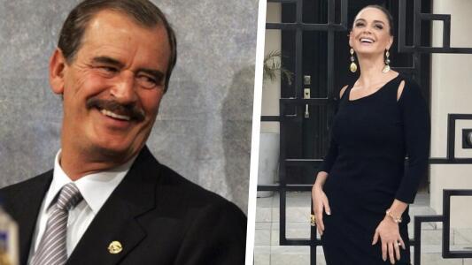 Vicente Fox respalda candidatura de Lupita Jones para gubernatura de Baja California