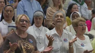 Creyentes en el sur de Florida celebran misa en honor a la Virgen de la Caridad del Cobre