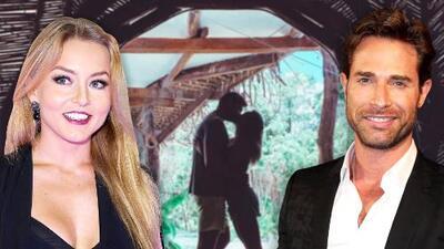 Sebastián Rulli y Angelique Boyer al fin encontraron un lugar en el que pueden estar solos