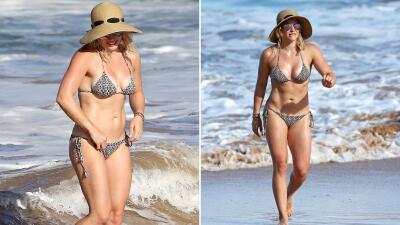 ¡Ma-ma-ci-ta! Hilary Duff calienta Hawái en bikini