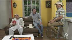 Los Cousins   Luis y Mike imitan a la abuela