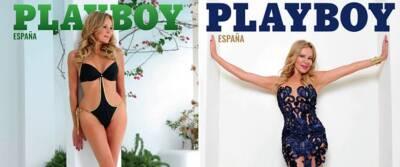 Tiene 62 años, pero esta actriz se negó al Photoshop para salir en portada de Playboy España