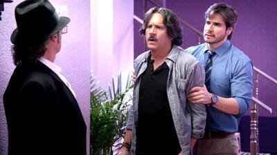 Pancho López casi golpea a Audifaz por ofender a su hijo Temo