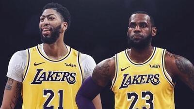 LeBron James ya le dio la bienvenida a Anthony Davis a los Lakers