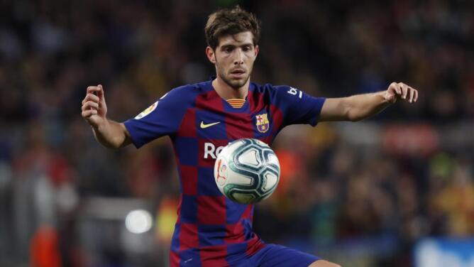 Mala noticia para el Barcelona: Sergi Roberto dio positivo por COVID-19