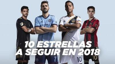 Vela, los Dos Santos, Villa y Almirón, entre las estrellas a seguir en la MLS este 2018