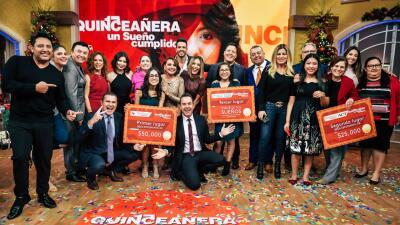 Sorpresas, alegrías y llanto en la gran final de 'Quinceañera: un sueño cumplido' (fotos)
