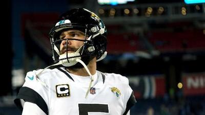 Blake Bortles volverá a ser el QB titular de los Jaguars, quizás por última vez