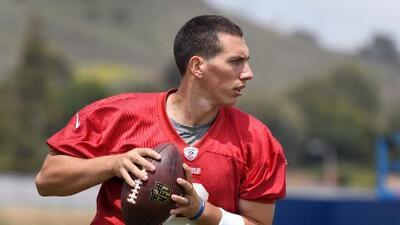 Luis Pérez, el quarterback mexicano que debuta esta noche en la NFL
