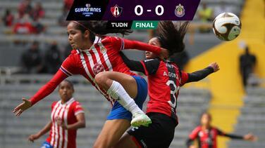 No hubo goles pero sí muchos golpes en el Atlas vs Chivas