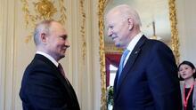 Biden y Putin frente a frente en su esperada primera cumbre presidencial en Ginebra