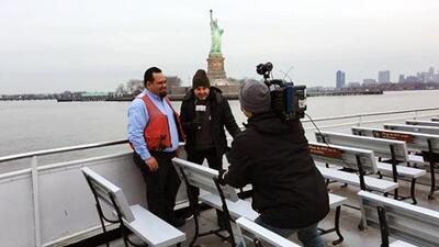 De espantador de gansos a marinero de cubierta en el ferri de NY: Carlos Calderón ya sabe el trabajo que se requiere