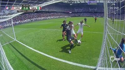 ¡Infortunio tricolor! Yamile Franco la mete en propia puerta y Team USA gana 2-0