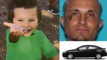 Emiten una alerta Amber por el secuestro de un niño de 4 años en Austin: se cree que está en grave peligro