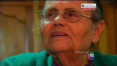 Univision Noticias entrevistó a la madre de El Chapo cuando fue capturado en 2014