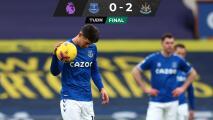 James Rodríguez y el Everton no pudieron ante el Newcastle