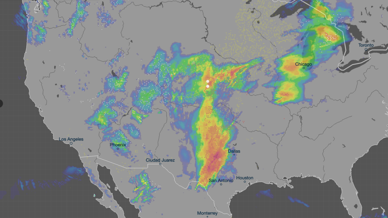 Image result for Un 'ciclón bomba' pone en riesgo a 70 millones de personas en estados centrales de EEUU