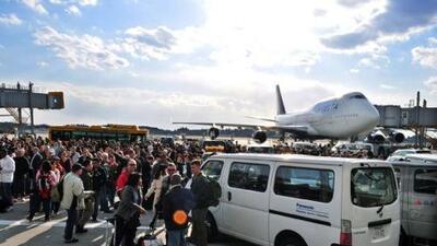 El terremoto en Japón causó la cancelación de cientos de vuelos en Estados Unidos