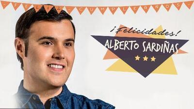 Así se celebra el cumpleaños de Alberto Sardiñas en los estudios de Amor