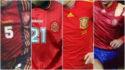 España dejará de vestir las tres líneas: estas son sus 10 playeras más hermosas con la marca alemana