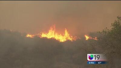 Devastación en CA por el incendio Butte
