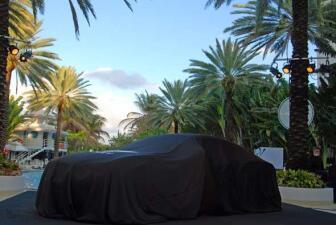 El Bentley Continental GT en Miami Beach