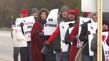 Comienza la huelga en colegio comunitario Triton de River Grove