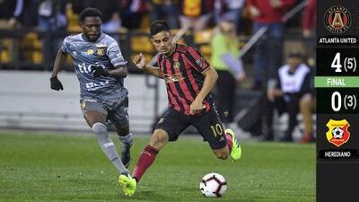 Josef Martínez encabeza voltereta de Atlanta United con doblete ante Herediano