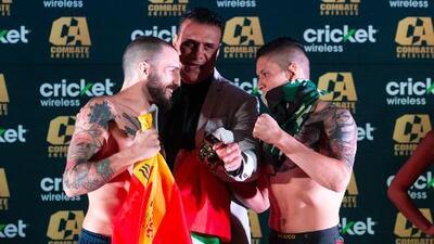 Combate Américas: los peleadores superan la báscula en Guadalajara