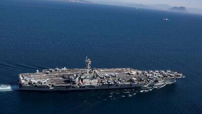 Portaaviones y bombarderos en el Medio Oriente: la advertencia de EEUU a Irán