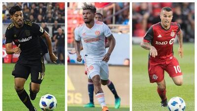 Estos son los 24 convocados al Equipo de Estrellas de MLS para el duelo ante Juventus en el All-Star Game