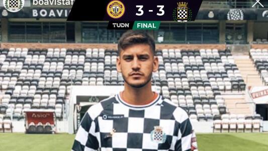 El juvenil mexicano, Alejandro Gómez, debuta con un par de errores en Portugal