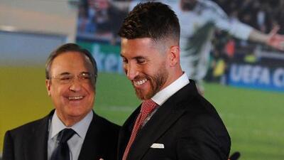 """Florentino Pérez y el caso Sergio Ramos a China: """"Es imposible que el Real Madrid deje a su capitán"""""""