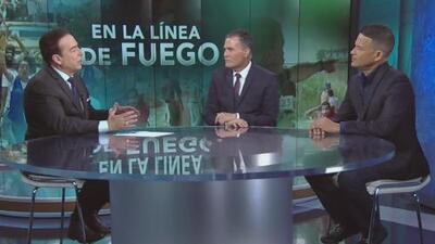 Así fue como el equipo de Univision 23 arriesgó la vida en el cubrimiento de los enfrentamientos en Cúcuta