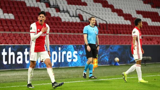 Edson Álvarez, entre los finalistas a jugador del año en la Eredivisie