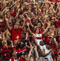 Muere un aficionado en riña de barras bravas en Brasil