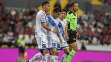 Christian Tabó puede sufrir una contractura en Puebla y es duda