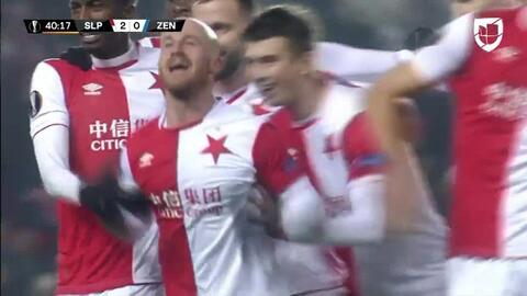 ¡GOOOL! Miroslav Stoch anota para Slavia Prague