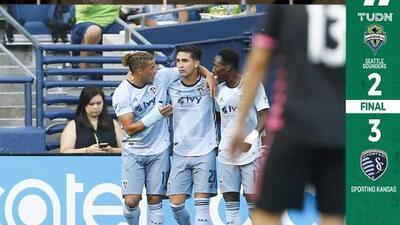 Doblete de Felipe Gutiérrez doblegó a Seattle y acercó al Sporting a puestos de playoffs