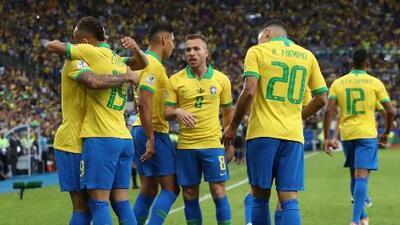 ¡Medio tiempo en el Maracaná! Brasil supera 2-1 a Perú en la Final de Copa América