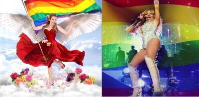 Los famosos comprometidos con el movimiento LGBTTTIQ en México