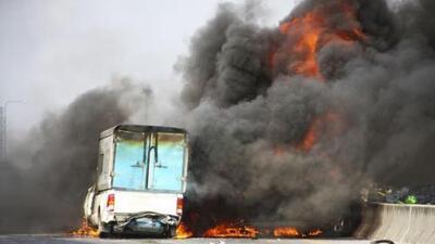 Choque masivo deja cinco muertos al sur de Texas