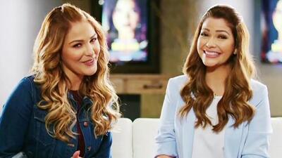Ana Patricia y Migbelis Castellanos descubrieron que ser reina de Nuestra Belleza Latina tiene sus ventajas