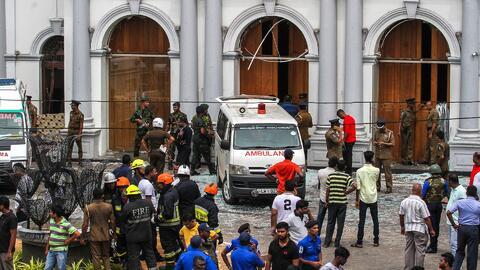 Ocho atentados terroristas en Sri Lanka dejan más de 200 muertos y centenares de heridos