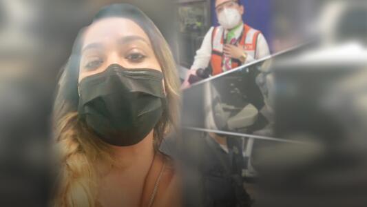 """Mayeli Alonso admite que """"tocó"""" a la empleada antes de ser arrestada"""