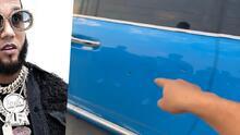 Tirotean en el auto de El Alfa, mientras se encontraba junto a Nicky Jam, Messiah y otros artistas