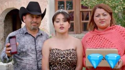 Mismo lugar y misma ropa, pero este video de Rubí Ibarra y sus papás todavía no lo has visto
