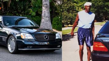 Michael Jordan pone en subasta su Mercedes Benz